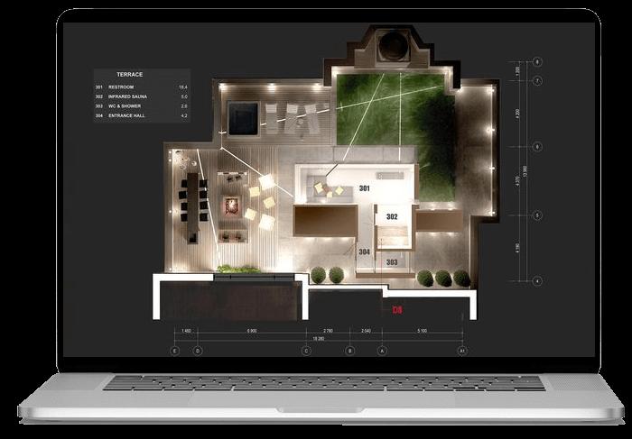امکان طراحی نور یک ساختمان کامل در دیالوکس