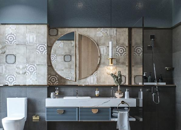 میزتوالتهای دیواری و یک جلوه بصری فوقالعاده
