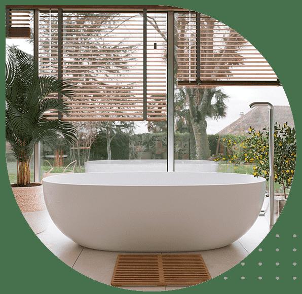 گیاهان در حمام
