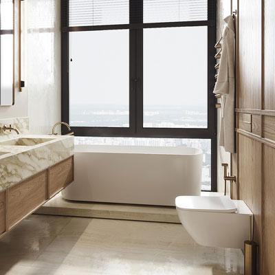 دیزاین حمام های مدرن