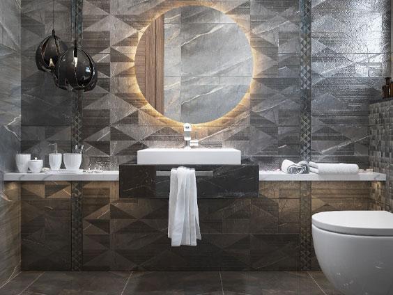 استفاده از ظروف شیک در سرویس حمام و دستشویی