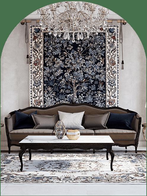 زیبایی محیط زندگی به واسطه طراحی داخلی منزل