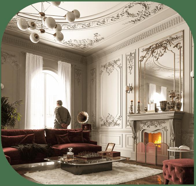 نقش طراحان داخلی در طراحی فضا منزل