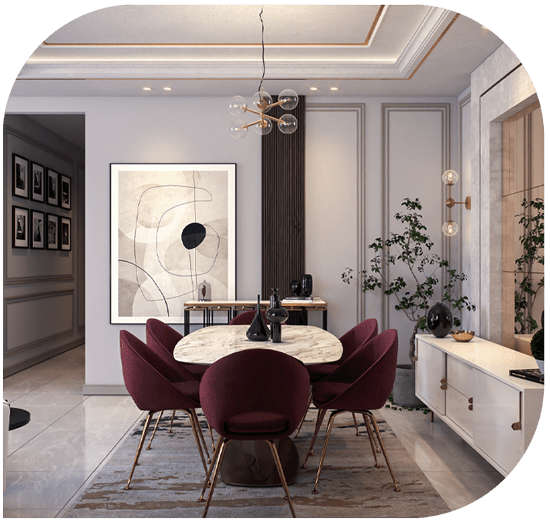 انتخاب دقیق رنگ در طراحی داخلی
