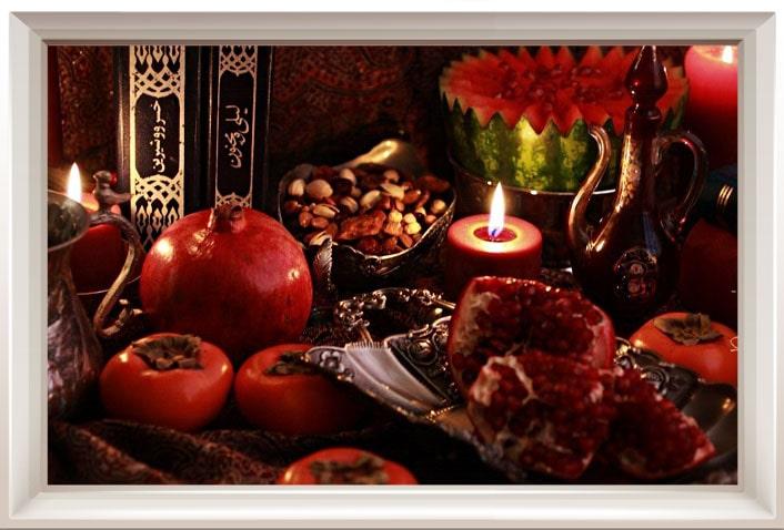 میوه های پاییزی برای یلدا