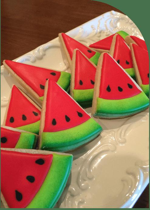 دسر هندوانه ای برای یلدا