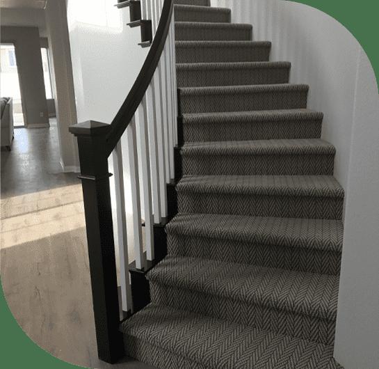 یکی از سریع ترین روش های نصب موکت راه پله