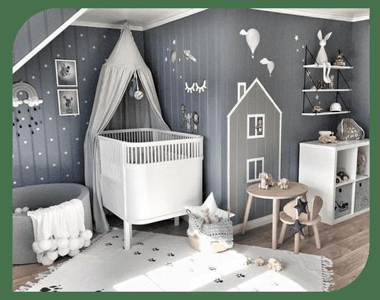 طراحی و دیزاین اتاق نوزاد