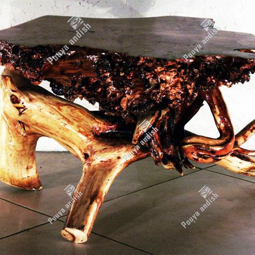 ساخت میز با چوب