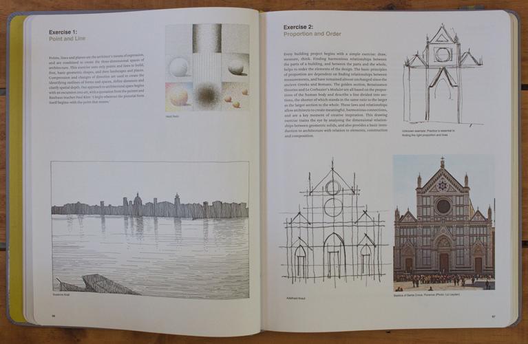 Book page2 - ۱۰ تمرین ضروری اسکیس برای معماران