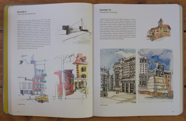 Book page5 - ۱۰ تمرین ضروری اسکیس برای معماران