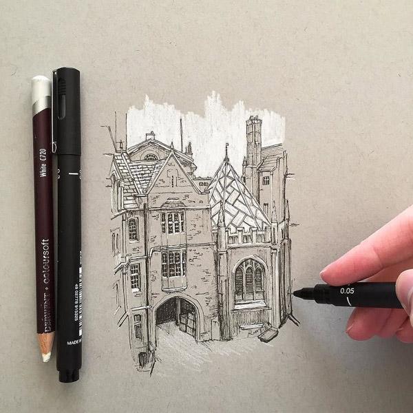 Control  Architectural  Sketch - ۱۰ نکته برای طراحی اسکیس معماری