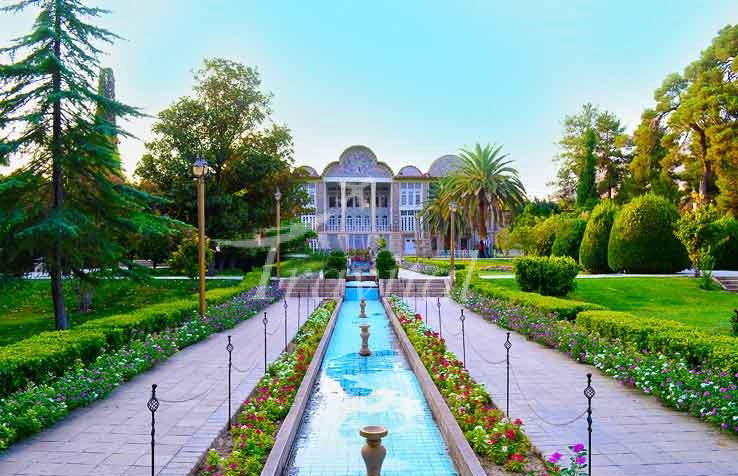 Eram Garden Shiraz - نگاهی به باغسازی شرقی و غربی
