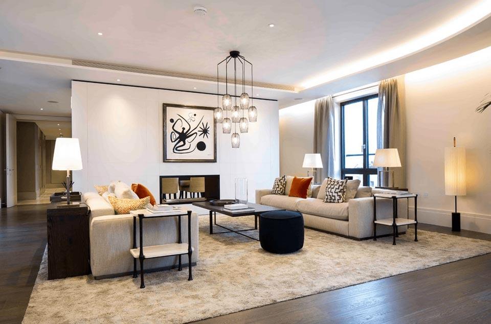 Living room lighting - راهنمای کامل نورپردازی داخلی