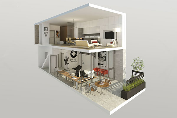 Renderin 2 present - پنج روش پرزنت در معماری برای بازاریابی پروژهها