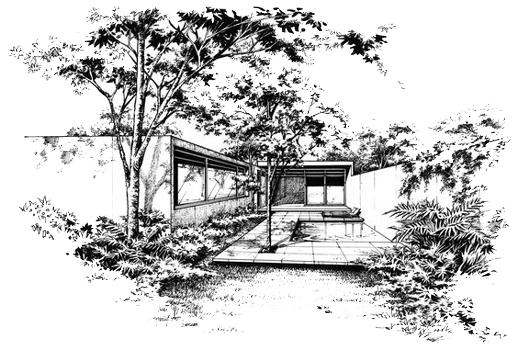 architectural sketch 2 - مهارت در اسکیس معماری