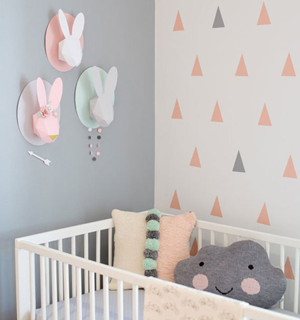 baby room 1 - چند ایده شیک برای دکوراسیون اتاق نوزاد