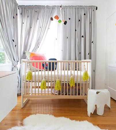 baby room 10 - چند ایده شیک برای دکوراسیون اتاق نوزاد