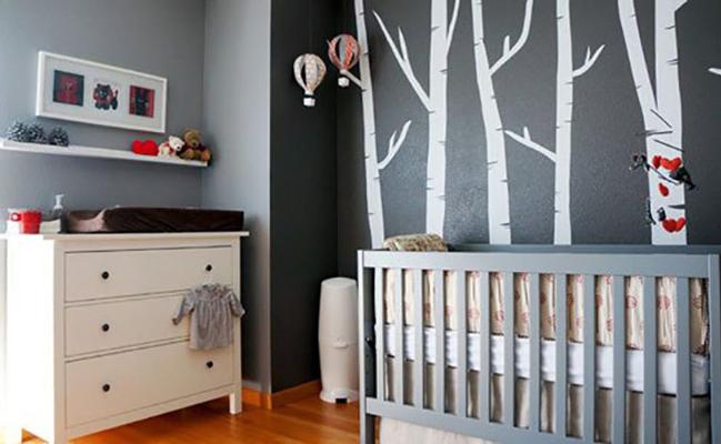 baby room 2 - چند ایده شیک برای دکوراسیون اتاق نوزاد