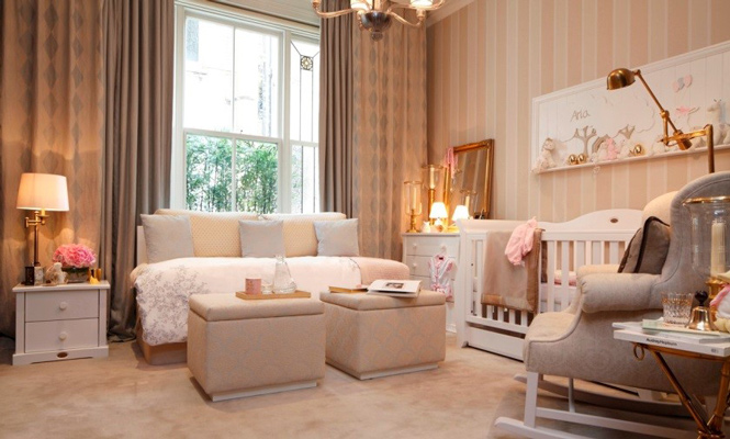 baby room 3 1 - طراحی دکوراسیون اتاق نوزاد
