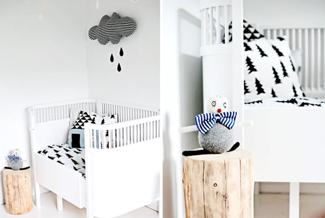 baby room 3 - چند ایده شیک برای دکوراسیون اتاق نوزاد
