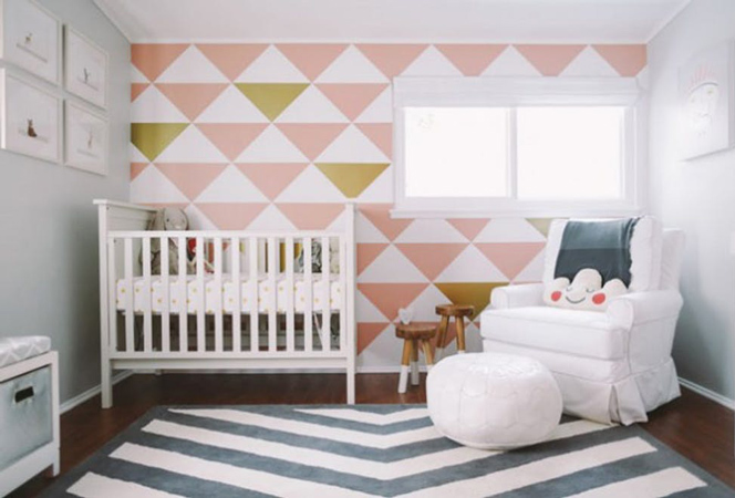baby room 4 - چند ایده شیک برای دکوراسیون اتاق نوزاد
