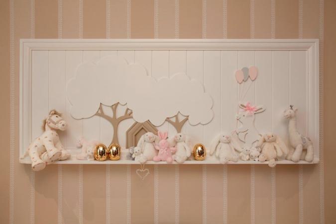 baby room 6 1 - طراحی دکوراسیون اتاق نوزاد