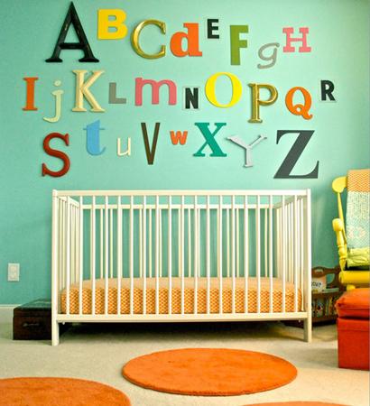 baby room 7 - چند ایده شیک برای دکوراسیون اتاق نوزاد