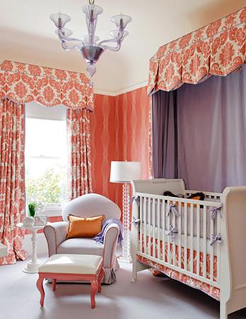 baby room 8 - چند ایده شیک برای دکوراسیون اتاق نوزاد