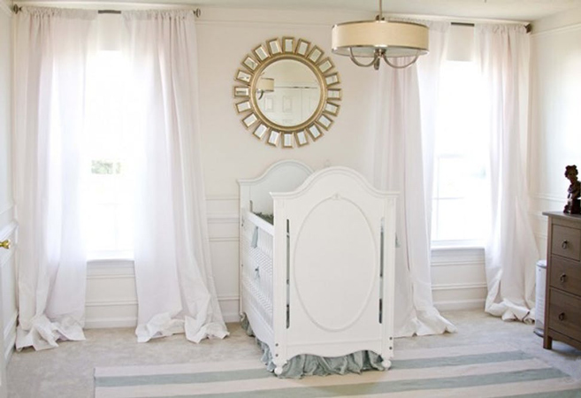 baby room 9 - چند ایده شیک برای دکوراسیون اتاق نوزاد