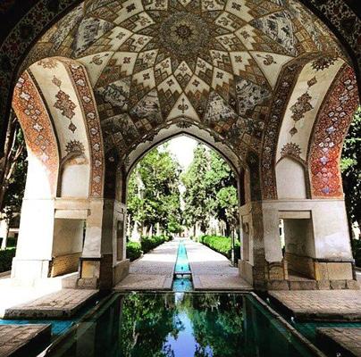 baghe irani 2 - باغ ایرانی نمادی از بهشت