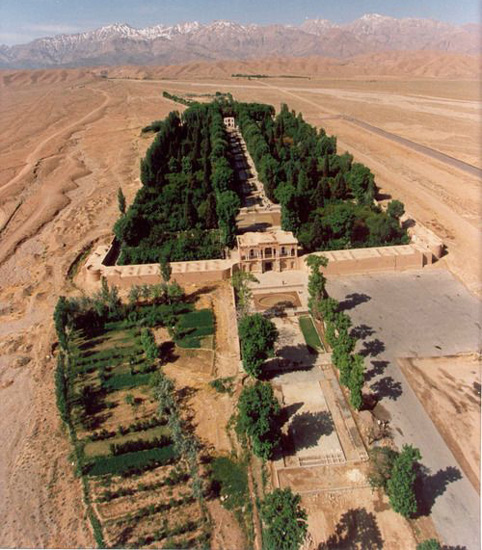 baghe irani 7 1 - باغ ایرانی نمادی از بهشت