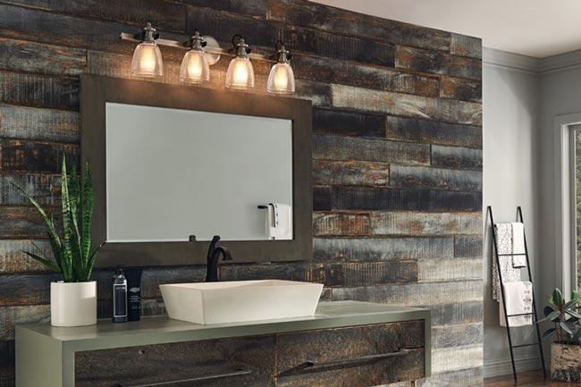 bathroom lighting - راهنمای کامل نورپردازی داخلی