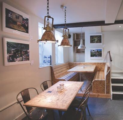 coffee shop 1 - طراحی داخلی کافی شاپ