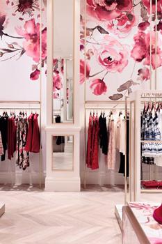 color shopping design 2 - رنگ در طراحی داخلی مغازه ها