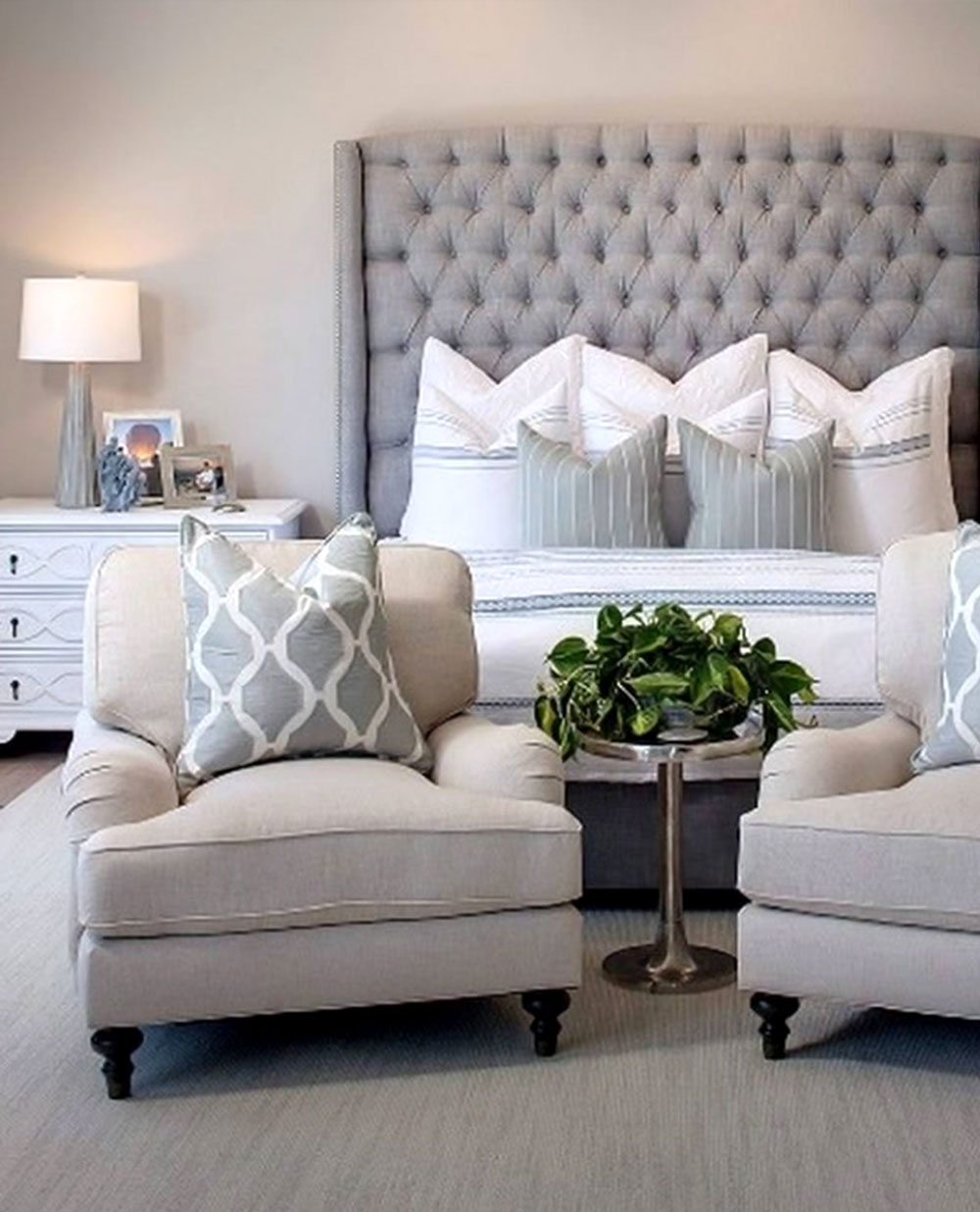 decorasion bedroom design3 - نکاتی در مورد تزیین اتاق خواب