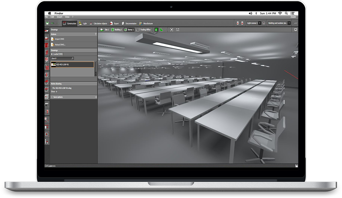 dialux 1 - آموزش نورپردازی ساختمان