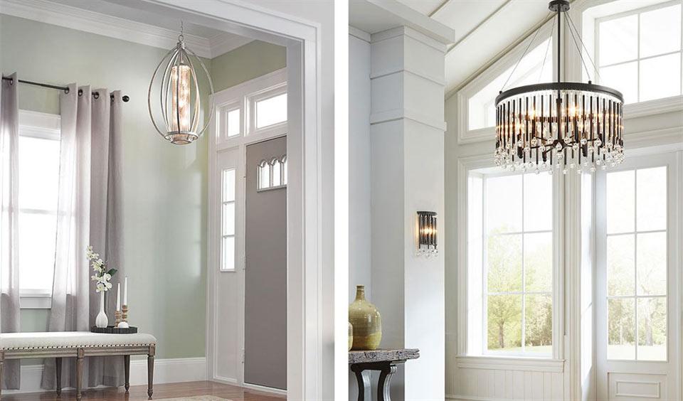 entryway lighting - راهنمای کامل نورپردازی داخلی