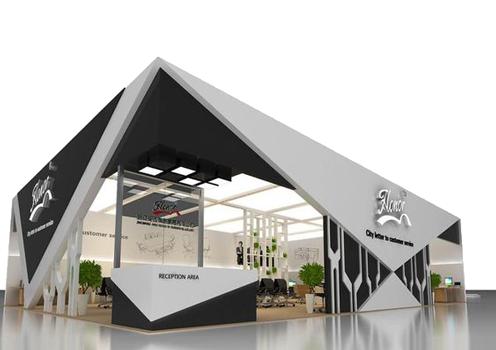 exhibition booth 9 - طراحی غرفه های نمایشگاهی
