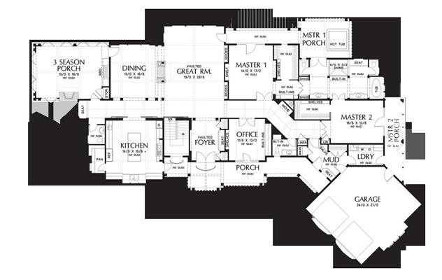 home plan 3 - پلان مسکونی