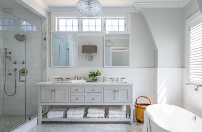 lighting bathroom - راهنمای کامل نورپردازی داخلی
