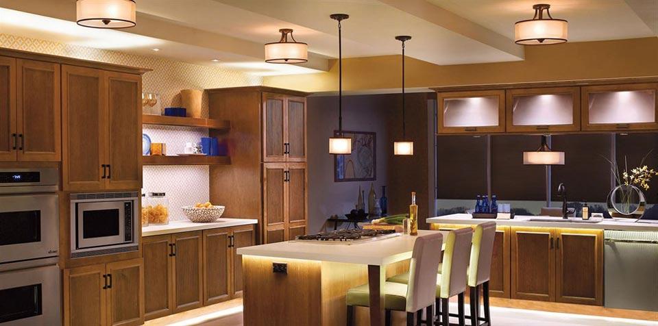 lighting kitchen ideas - راهنمای کامل نورپردازی داخلی