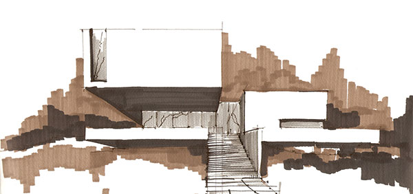 sketch present - پنج روش پرزنت در معماری برای بازاریابی پروژهها