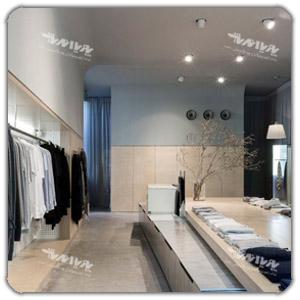 رنگ در طراحی داخلی مغازه ها