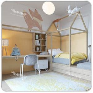 طراحی اتاق خواب کودک شیک