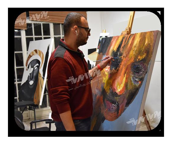 001 - کلاس نقاشی ، دوره نقاشی