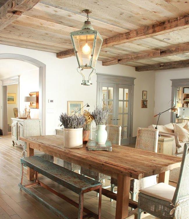 country style dinning room - اتاق ناهار خوری
