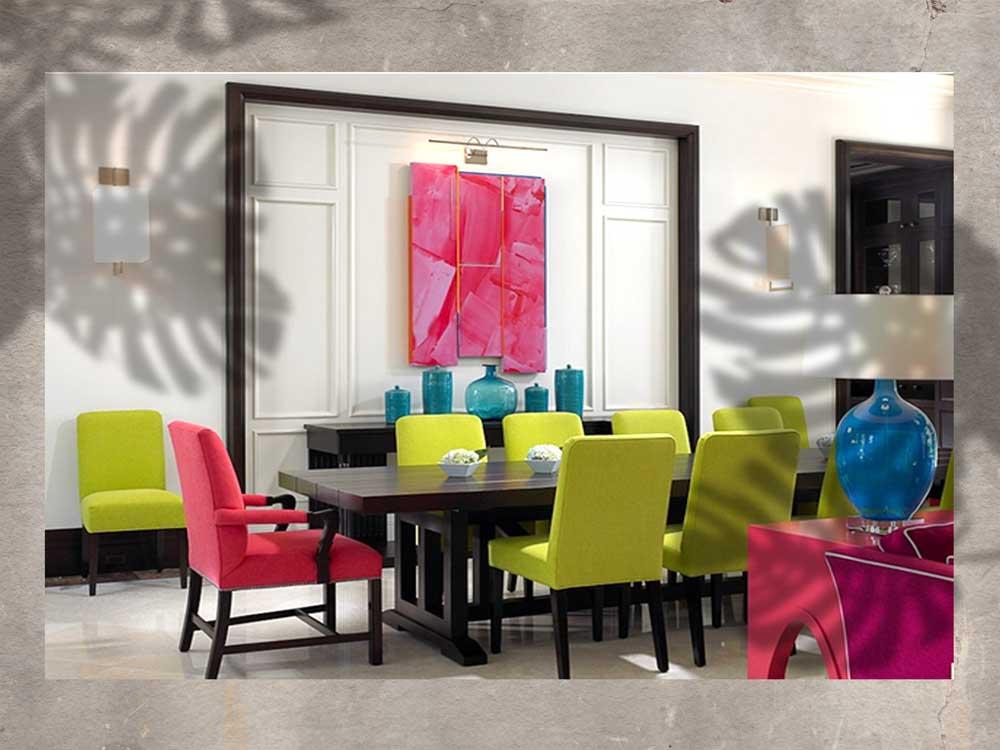 design 11a - رنگ های جلوه بخش در دکوراسیون