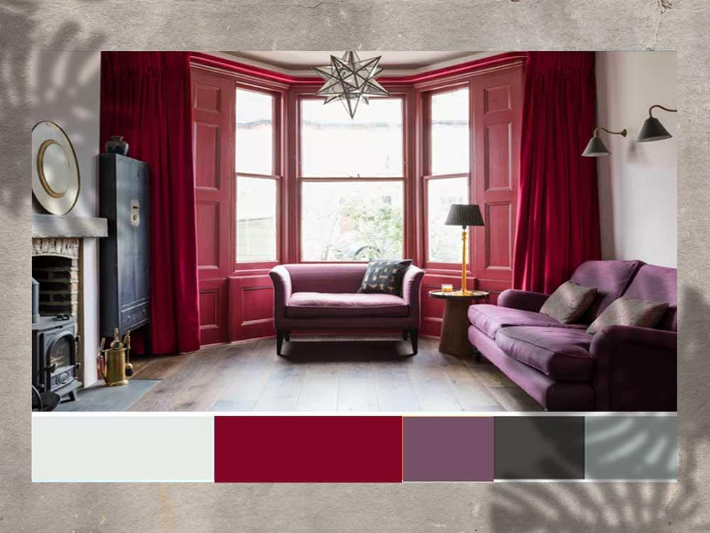 design 43a - رنگ های جلوه بخش در دکوراسیون