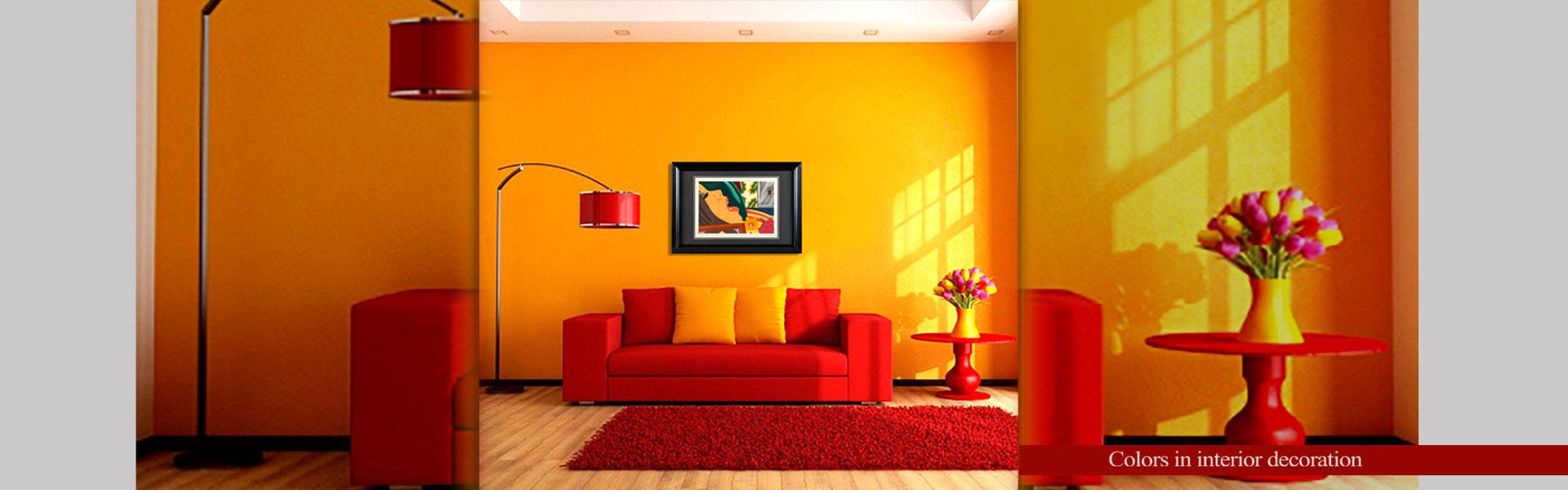 design 777a - رنگ های جلوه بخش در دکوراسیون
